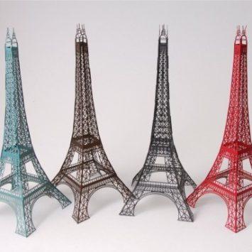 D.I.Y.: Torre Eiffel de papel